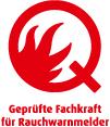 Q-Label Fachkraft 35mm rot